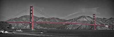 Photograph - Golden Gate Bridge Pano by Greg McLain