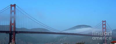 Photograph - Golden Gate Bridge Panorama by Wilko Van de Kamp