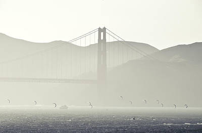 Golden Gate Bridge Art Print by Paul Plaine
