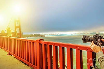 Photograph - Golden Gate Bridge Photography by Benny Marty