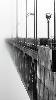 Photograph - Golden Gate Bridge Portrait  by Bill Gallagher