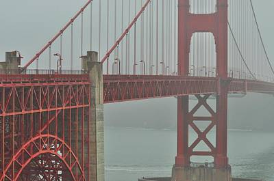Photograph - Golden Gate Bridge by Puzzles Shum