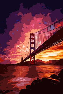 Photograph - Golden Gate Bridge - San Francisco by Andrea Mazzocchetti