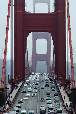 Golden Gate Bridge, San Francisco Art Print