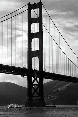 Photograph - Golden Gate Bridge, San Francisco, California by Aidan Moran