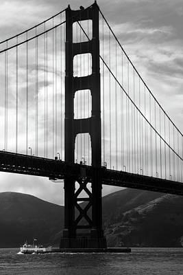 Rivets Photograph - Golden Gate Bridge, San Francisco, California by Aidan Moran