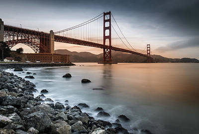 Photograph - Golden Gate Bridge, San Francisco by Marty Garland
