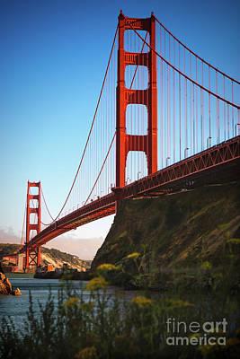 Golden Gate Bridge Sausalito Art Print by Doug Sturgess
