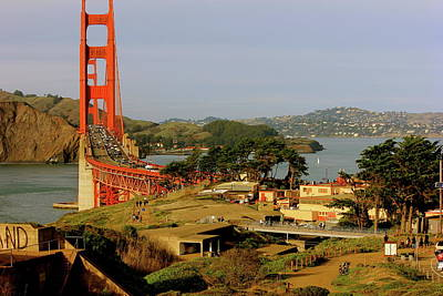 Photograph - Golden Gate Bridge Sfcalifornia by Lorna Maza