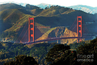Photograph - Golden Gate Bridge by Steven Spak