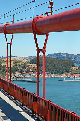 Photograph - Golden Gate Connections by Shoal Hollingsworth