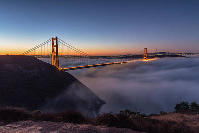 Photograph - Golden Gate by Davorin Mance