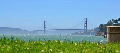 Photograph - Golden Gate by Dean Ferreira