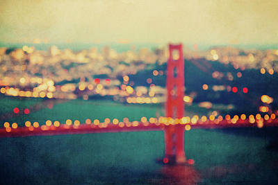 Photograph - Golden Gate Dreams by Melanie Alexandra Price