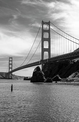 Photograph - Golden Gate East 2 by David Cabana