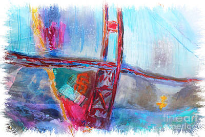 Photograph - Golden Gate Frisco by Lori Mellen-Pagliaro