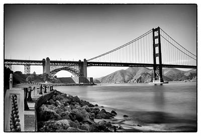 Golden Gate From Fort Point Art Print by Tanya Harrison