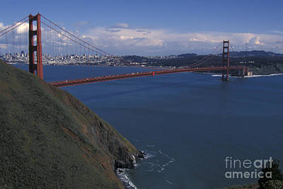 Golden Gate From Marin Headlands Art Print