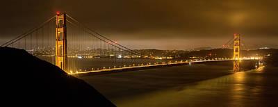 Golden Gate Art Print by Jeremy Jensen