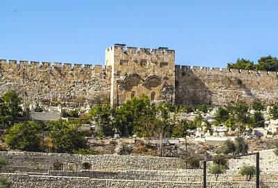 Staff Picks Judy Bernier Rights Managed Images - Golden Gate Jerusalem Israel Royalty-Free Image by Brian Tada