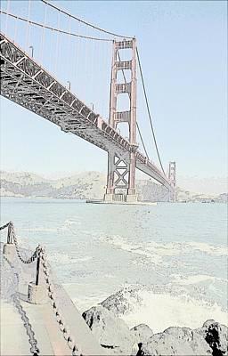 Photograph - Golden Gate  by John Schneider