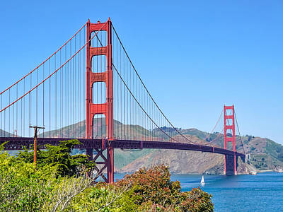 Photograph - Golden Gate by Lutz Baar