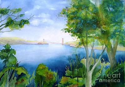 Golden Gate San Francisco Art Print by Maryann Schigur