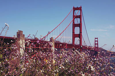 Photograph - Golden Gate by The Artist Project