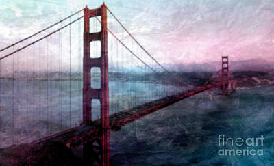 Painting - Golden Gate  by Tlynn Brentnall
