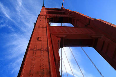 Photograph - Golden Gate Tower by Aidan Moran