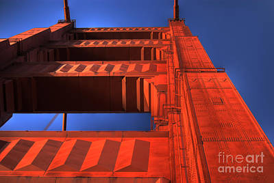 Golden Gate Tower Art Print by Jim and Emily Bush
