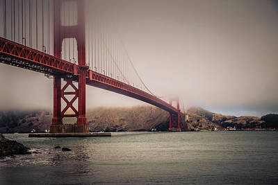 Sight Seeing San Francisco Photograph - Golden Gate by William Towner