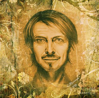 Golden Gate2 - David Bowie Original by Amelia Macioszek