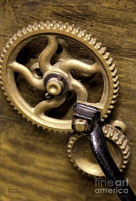Photograph - Golden Gears by David Millenheft