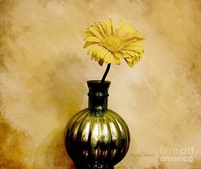 Golden Gerber Art Print