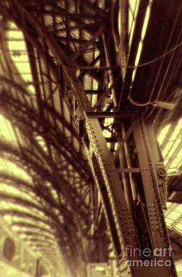Photograph - Golden Girders by Gregory Dyer