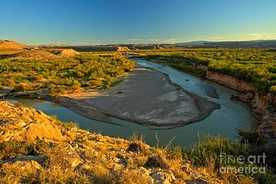 Photograph - Golden Glow At Big Bend by Adam Jewell