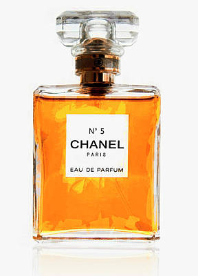 No. 5 Digital Art - Golden Glow Of Chanel No. 5 by Daniel Hagerman