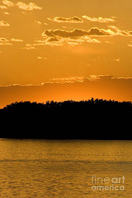 Photograph - Golden Glow Sunset by Martha Johnson