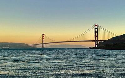 Photograph - Golden, Golden Gate by Chris Alberding