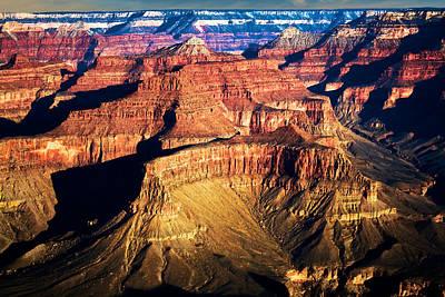 Photograph - Golden Grand Canyon by Kim Wilson