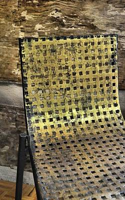 Photograph - Golden Grid by JAMART Photography
