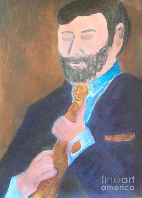 Painting - Golden Groom Fifteen by Richard W Linford