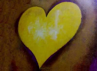 Photograph - Golden Heart by Rob Hans