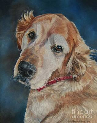 Painting - Golden by Heidi Parmelee-Pratt