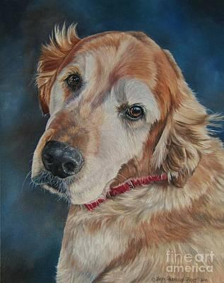 Painting - Golden by Heidi Parmelee-Pratt