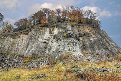 Photograph - Golden Hill - Columnar Jointed Volcanics - National Natural Monu by Michal Boubin