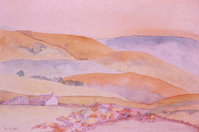 Painting - Golden Hills by Dee Van Houten