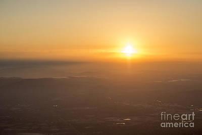 Photograph - Golden Horizon by Ray Warren