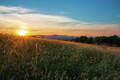 Photograph - Golden Hour At Million Dollar View by Jeff Severson
